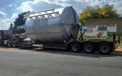 Beer tanks  for the Brewery in Zimbabwe